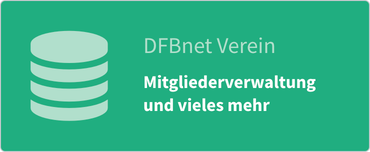 DFBnet Verein: Mitgliederverwaltung und vieles mehr